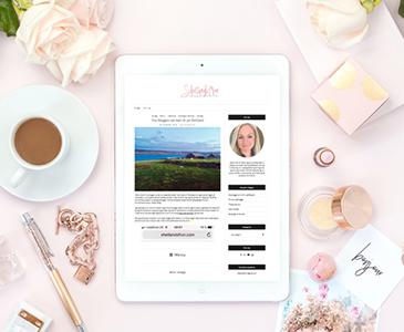 Snygg hemsida i WordPress Shetlandsfrun Webbdesign av Hjälp med hemsidan i Stockholm och Åkersberga