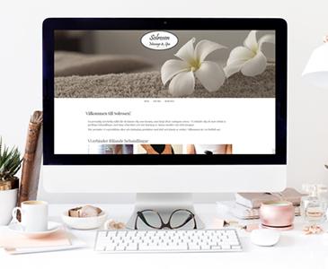 Snygg hemsida till spa Webbdesign av Hjälp med hemsidan i Stockholm Galleri med snygga hemsidor