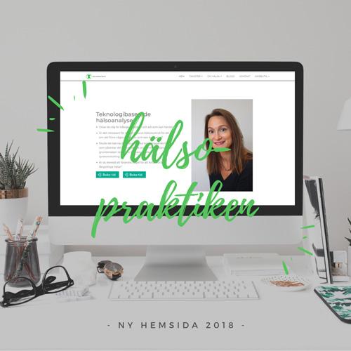 hemsida för hälsoanalyser