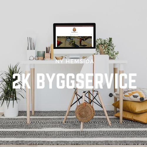 Snygg hemsida till Byggföretag