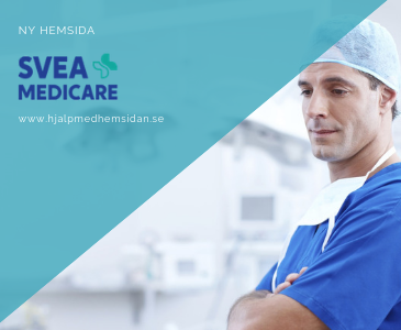 Snygg webbplats till Svea medicare