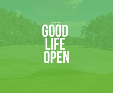 Snygga hemsidor till golftävling Good Life open
