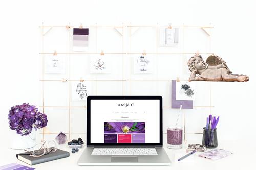 Snygg hemsida till odlare och ikonmålare