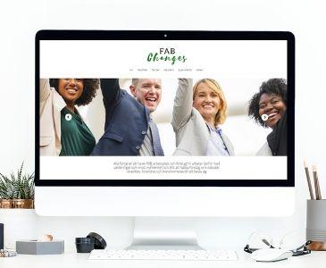 Hemsida till företag som arbetar med utveckling och förändring