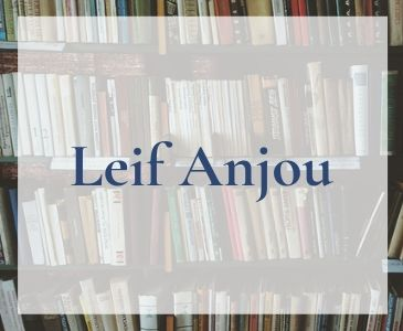 Snygg hemsida till författare Leif Anjou