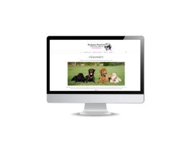 Roslagens hundtrim snygg hemsida